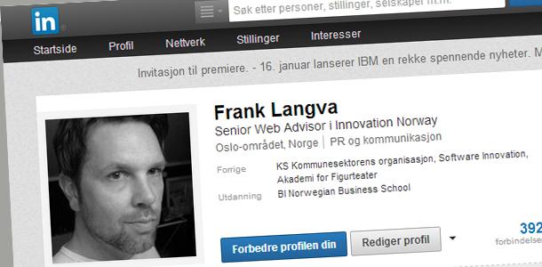 Forfatterens LinkedIn-profil