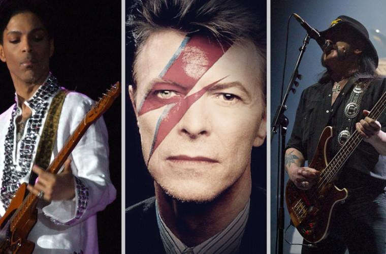 Prince, David Bowie & Lemmy